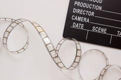 Klep voor de film Stock Foto's