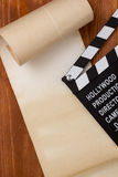 Klep voor film en document rol Royalty-vrije Stock Afbeeldingen