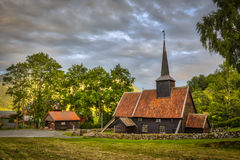 Klepka kościół Rodven Obrazy Royalty Free