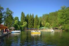 Kleptuza lake Velingrad Bulgaria Royalty Free Stock Images
