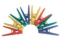Kleren-pin Stock Foto