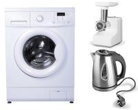 Klerenwasmachine Royalty-vrije Stock Afbeelding