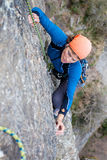 Klettern Lizenzfreies Stockfoto