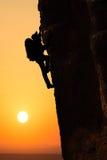 Klettern Stockfotografie