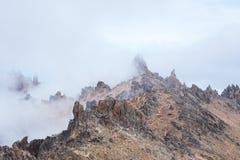 Klettern der Spitzen Stockfoto