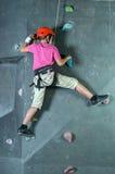 Klettern der Wand Lizenzfreies Stockfoto