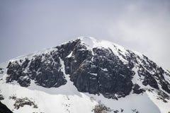 Klettern, Gehen und Skiiing in Glen Coe in den Hochländern von Schottland Stockbild