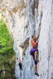 Klettern in Guamka Lizenzfreie Stockfotografie