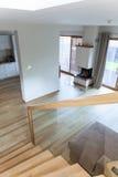 Klettern Sie die Treppe Stockfoto