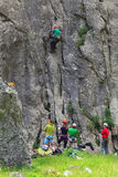 Klettern, Vratza, Bulgarien Stockfotografie