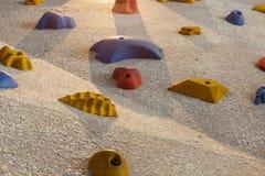 Kletternde Felsenwand Lizenzfreie Stockfotografie
