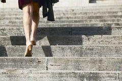 Kletternde Treppe stockfotos
