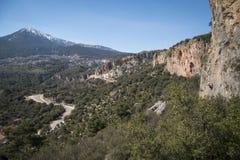 Kletternder Bereich Stockbilder