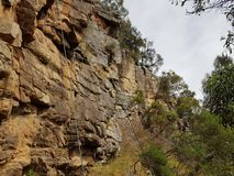 Kletternklippe stockfoto