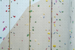 Kletterwand Stockfoto
