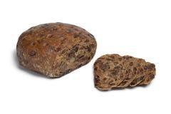 Kletzenbrot, rich fruit loaf from Austria Stock Images