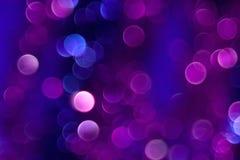 Kleur Bokeh Royalty-vrije Stock Afbeeldingen