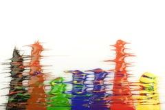 Kleur dalingen Royalty-vrije Stock Afbeeldingen