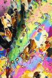 Kleur en textuur van ijs Stock Foto