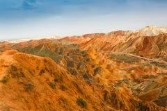 Kleur Geopark Stock Afbeeldingen
