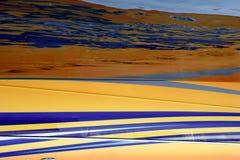 Kleur gewijzigd landschap royalty-vrije stock fotografie