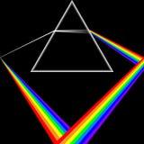 Kleur in het spectrum Stock Foto