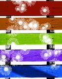Kleur-hoogtepunt grunge achtergrond stock afbeeldingen