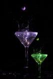 Kleur Martini Royalty-vrije Stock Foto