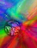 Kleur Mijn Wereld Stock Afbeeldingen