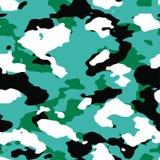 4-kleur Oceanic Camo-Patroon royalty-vrije illustratie