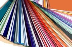 Kleur pallet Royalty-vrije Stock Afbeeldingen