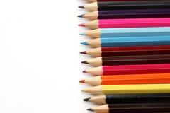 Kleur potloden Stock Afbeelding
