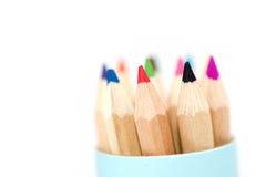 Kleur potlood stock afbeelding