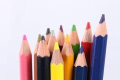 Kleur potlood Stock Foto's