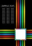 Kleur stroken vector illustratie