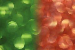 Kleur twee schittert achtergrond stock afbeelding