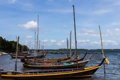Kleur van boot Stock Foto's