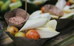 Kleur van dessert van THAILAND Royalty-vrije Stock Foto's