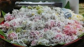 Kleur van dessert van THAILAND Royalty-vrije Stock Fotografie