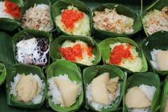 Kleur van dessert van THAILAND Stock Afbeeldingen