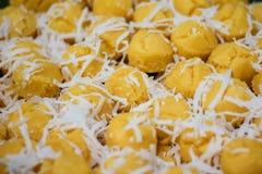 Kleur van dessert van THAILAND Stock Foto