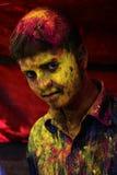 Kleur van gezicht Stock Foto's