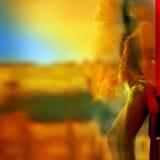 Kleur van hartstocht. Royalty-vrije Stock Afbeeldingen