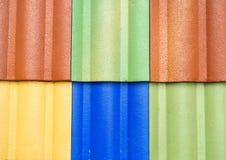 kleur van het dak Royalty-vrije Stock Foto