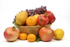 Kleur van mediterraan fruit Royalty-vrije Stock Foto's