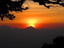 Kleur van zonsopgang Royalty-vrije Stock Fotografie