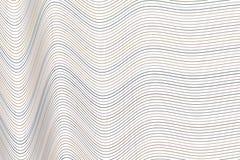 Kleuren abstracte lijn, kromme & generatieve de kunstachtergrond van het golf geometrische patroon Achtergrond, grafisch, creatie vector illustratie