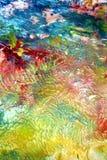 Kleuren, abstracte pastelkleur zachte achtergrond, tinten, de achtergrond van de waterverfverf vector illustratie