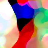 Kleuren abstracte samenstelling Royalty-vrije Stock Afbeeldingen