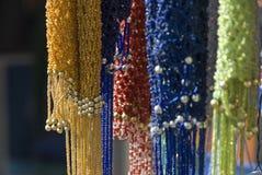 Kleuren bij Egyptische markt Stock Fotografie